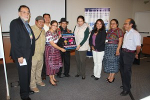 Se tuvo la visita de Irma Verónica Araujo Samayoa embajadora de Guatemala en la republica del Perú.